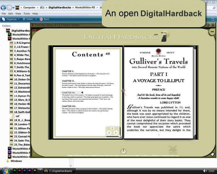 Windows - An Open Digital Hardback 3