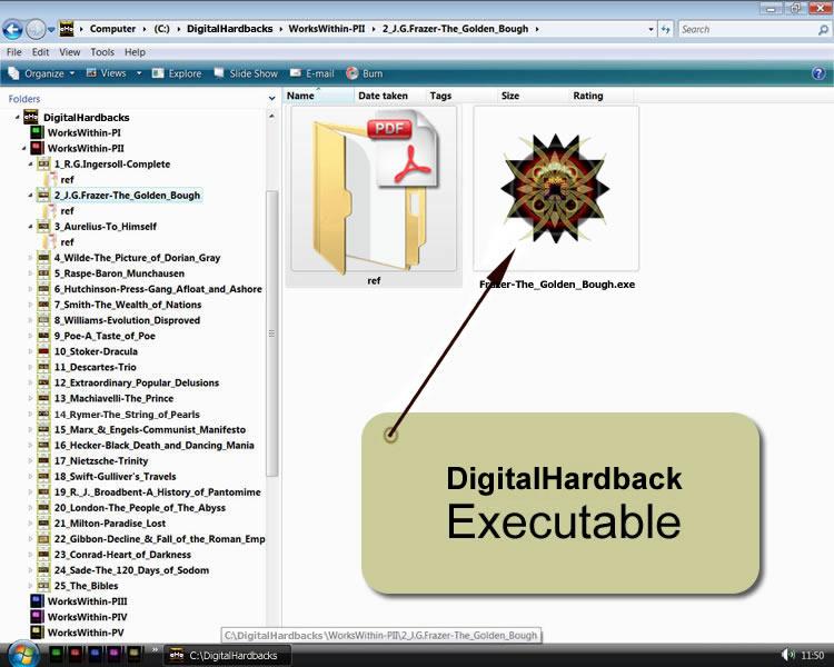 Digital Hardback executable