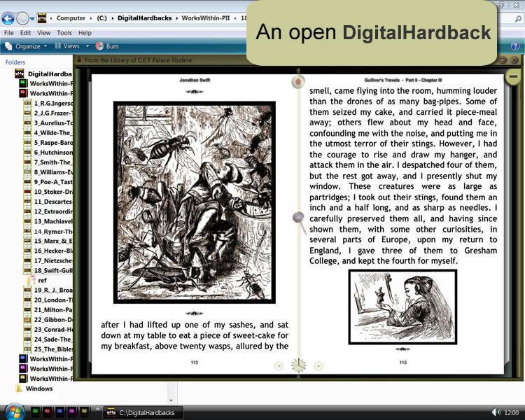 Windows - An Open Digital Hardback 1